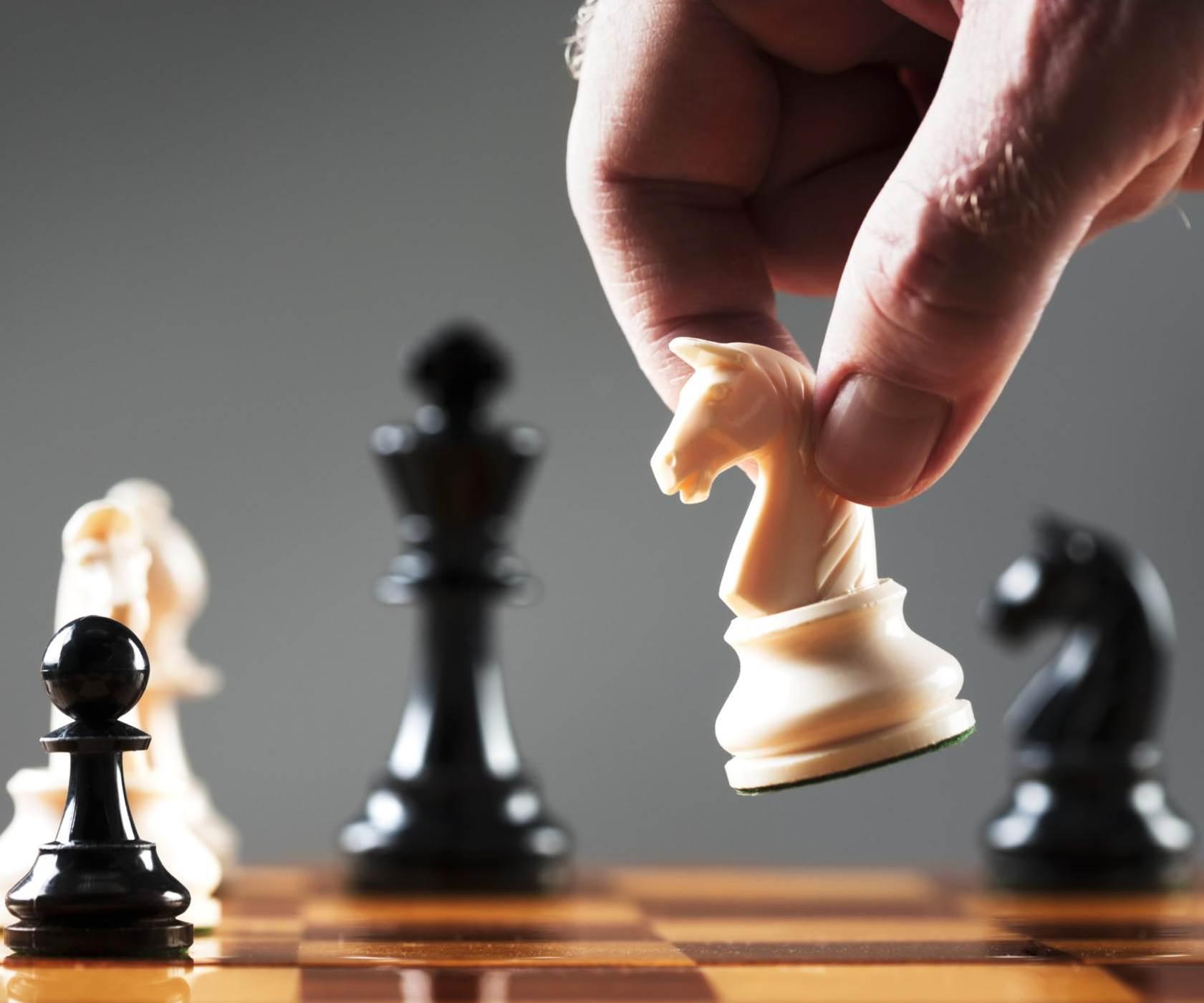 ¡Póngame una de ajedrez!