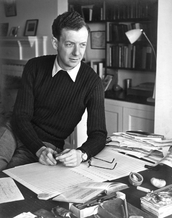 Photo courtesy of the Britten?Pears Foundation, www.brittenpears.org. BPF archive catalogue number PH_01_0136.