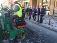 El Ayuntamiento impulsa un plan de bacheado para mejorar y reponer el pavimento deteriorado de la ciudad