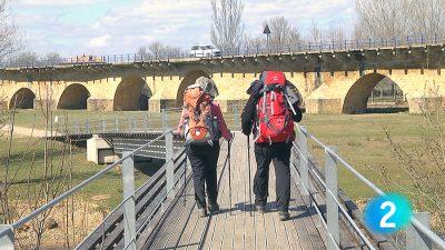camino puente villarente