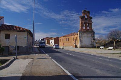 N-120, Valverde de la Virgen, Castilla y León, España
