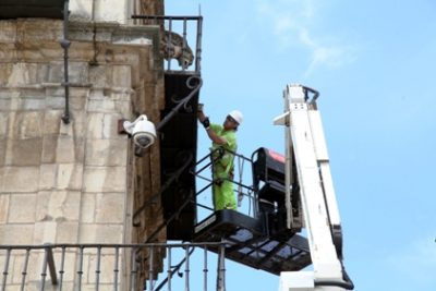 Plan Limpieza Patrimonio. Consistorio Plaza Mayor2