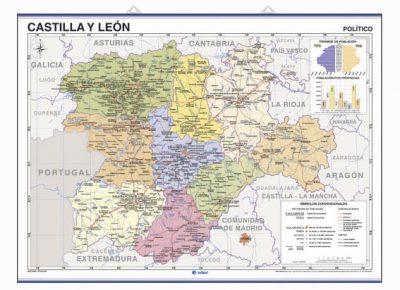 castilla y leon mapa 2