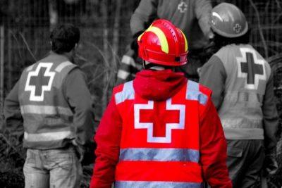 cruz roja voluntarios