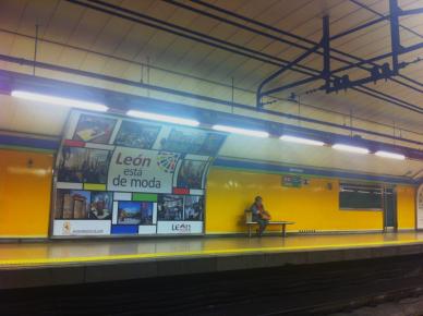 leon en metro