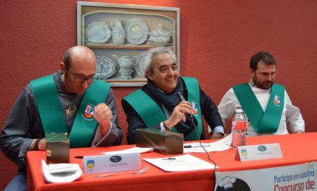 Jurado del III KidsJunior Chef Peñacorada presidido por Ramón Villa de la Academia Leonesa de Gastronomía.